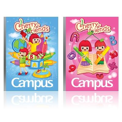 Vở ôly Campus Cherry Friends 48 trang