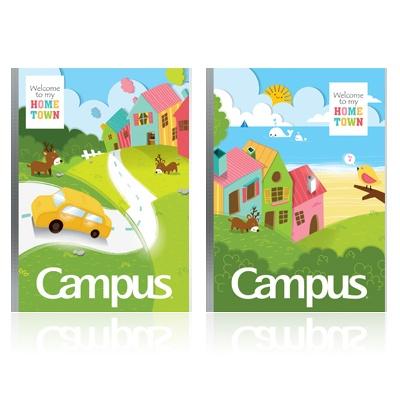 Vở ôly Campus Home Town 48 trang