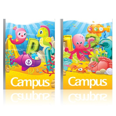 Vở ôly Campus Under the Sea 48 trang